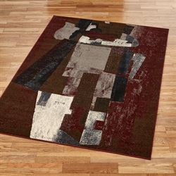 Abridge Rectangle Rug Cinnamon