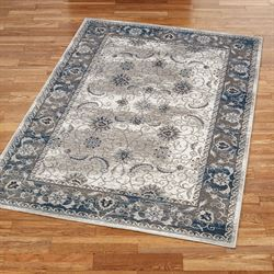 Vintage Royal Rectangle Rug Platinum