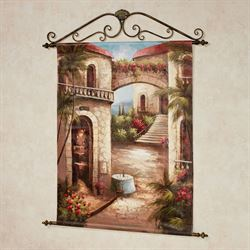 Table for Two Canvas Wall Hanging Multi Earth