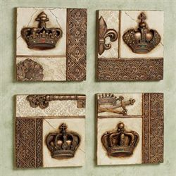 Imperial Grandeur Wall Plaque Set