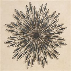 Inner Vision Metal Wall Sculpture Dark Brown