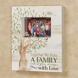 Family Wall Photo Frame Multi Warm