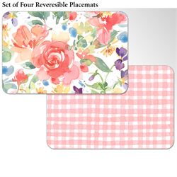 Serafina Placemats Multi Warm Set of Four