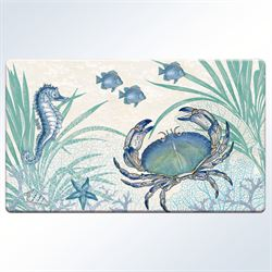 Oceana Cushioned Floor Mat Multi Cool 30 x 20