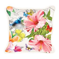 Paradise Rectangle Accent Pillow Multi Bright 18 x 12