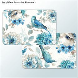 Indigold Placemats Multi Cool Set of Four