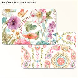 Rainbow Seed Placemats Multi Warm Set of Four