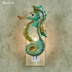 Leven Seahorse Nightlight Seafoam