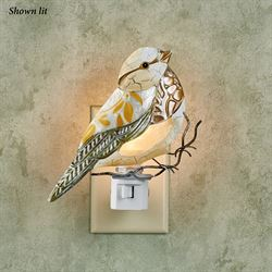 Noelani Bird Nightlight Multi Earth
