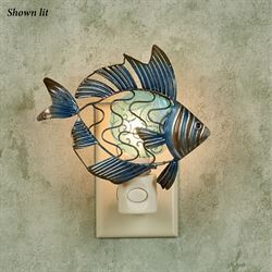 Finn Fish Nightlight Indigo