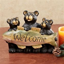 Bear Welcome Table Sculpture