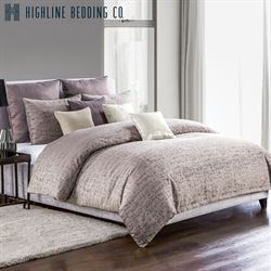 Driftwood Mini Comforter Set Plum