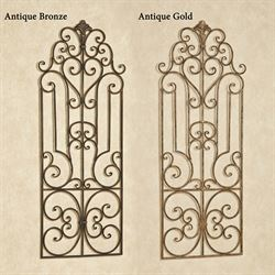 Wrought Iron Wall Grille