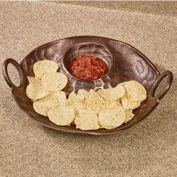 Rowann Chip and Dip Server Bronze
