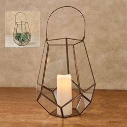 Everett Lantern Tabletop Accent Copper Large