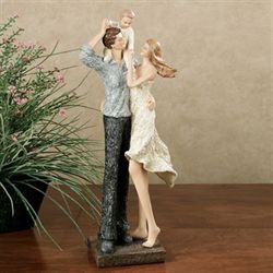 Treasured Family Moments Figurine Ivory