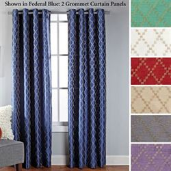 Broadway Grommet Curtain Panel 53 x 84