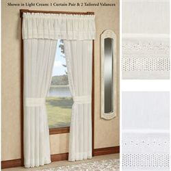 Danielle Tailored Curtain Pair