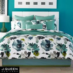 Midori Comforter Set White