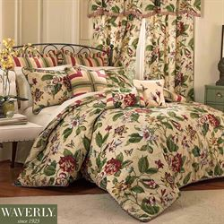 Laurel Springs Comforter Set Light Almond