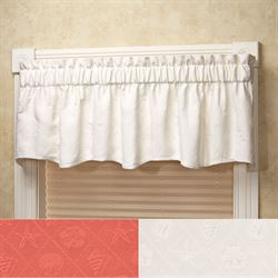 Shell Trellis Scalloped Valance 70 x 15