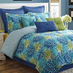Calypso Comforter Set Multi Jewel