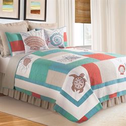 Folly Beach Quilt Multi Cool