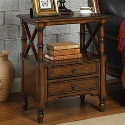 Joel Accent Cabinet Natural Cherry