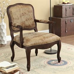 Alayah Accent Chair Natural Cherry
