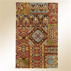 Kaveh Rectangle Rug Multi Jewel