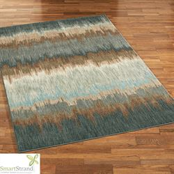 Cashel Rectangle Rug Blue