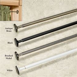 Spring Mount Mini Tension Curtain Rod