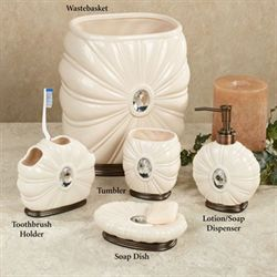 Jemma Lotion Soap Dispenser Beige