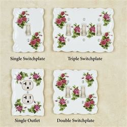 Ellie Rose Single Switch White