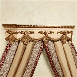 Louissa Wall Teester Bed Crown Cream
