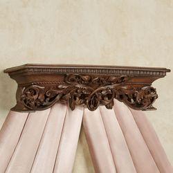 Adela Wall Teester Bed Crown Walnut