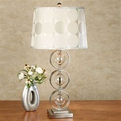 Xandra Table Lamp Pewter