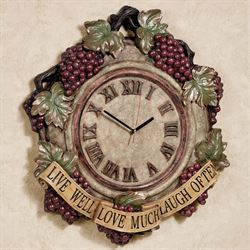 Live Love Laugh Wall Clock