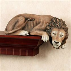 Lion Shelf Sitter