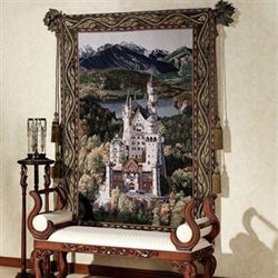 Neuschwanstein Castle Tapestry