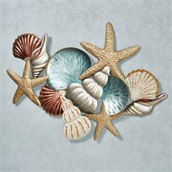 Ocean Collage Wall Art Multi Earth