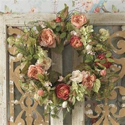 Spring Romance Wreath Multi Warm