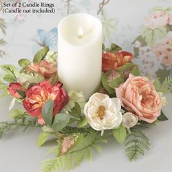 Spring Romance Candle Rings Multi Warm 2 Piece Set