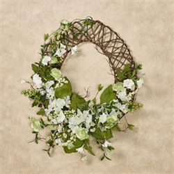 Floral Jubilee Oval Wreath Multi Cool