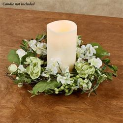 Floral Jubilee Candle Ring Multi Cool
