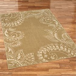 Kamaria Rectangle Rug Golden Bronze