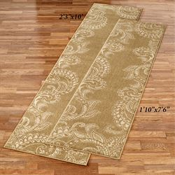 Kamaria Rug Runner Golden Bronze