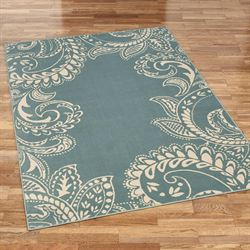 Kamaria Rectangle Rug Parisian Blue
