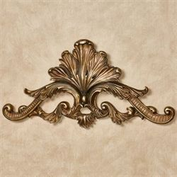 Arellia Decorative Wall Topper Aged Gold