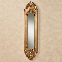 Maddalena Wall Mirror Panel Gold